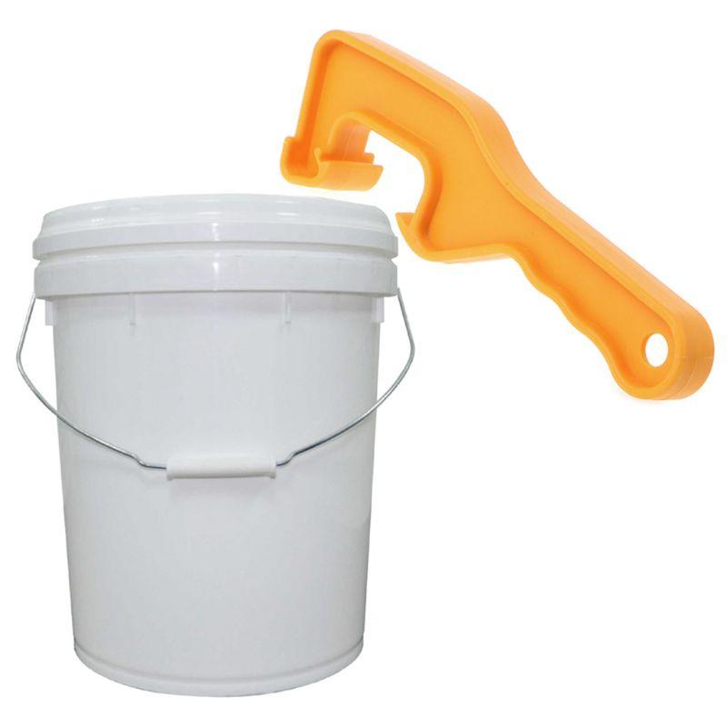 1Pc Hohe Qualität ABS Kunststoff Eimer Eimer Farbe Barrel Deckel Können Öffnung Werkzeug Für Home Office Hand Werkzeug