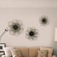 Кованые цветок мюоны моды современные стены и элегантные украшения стены украшения дома Бар новое поступление