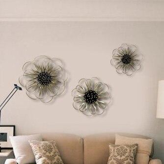 En Fer Forgé Fleur Muons Murale Moderne De Mode Et élégant