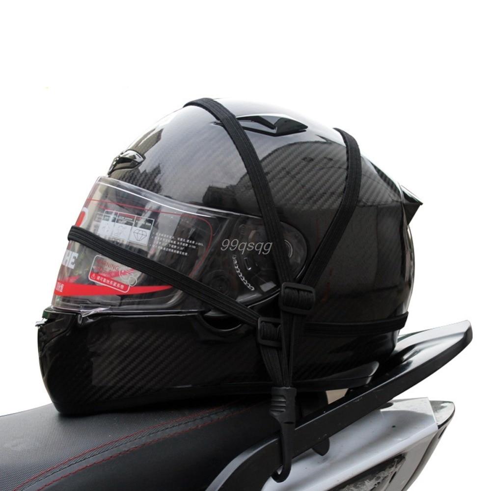 Мотоцикл гибкий Выдвижной шлем Чемодан Эластичный Веревки ремень с 2 Крючки 1 шт. Перевозка груза падения
