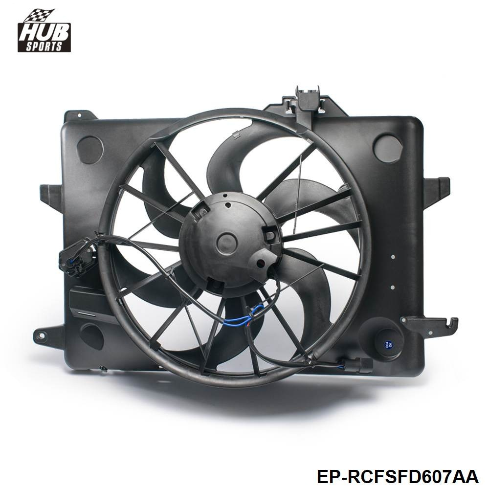 Hubsports epman engine cooling fan assembly radiator fan assembly for lincoln ford mercury f8vz8c607aa