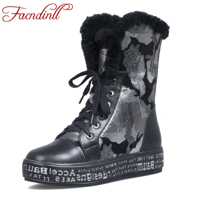 FACNDINLL fashion women ankle boots shoes genuine leather low heel platform shoes woman party casual winter snow boots size 39 winter boots women ankle boots for women genuine leather boots chelsea boots fashion short low heel shoes woman hot sale
