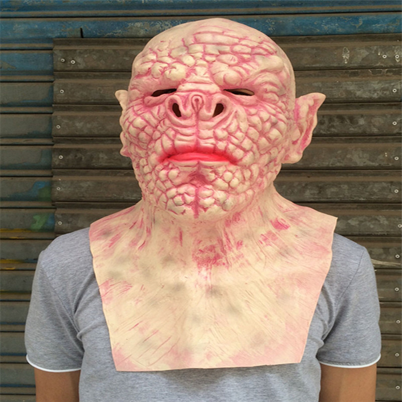 2017 New Hot Full Face Melting Zombie Mask Bloody Undead