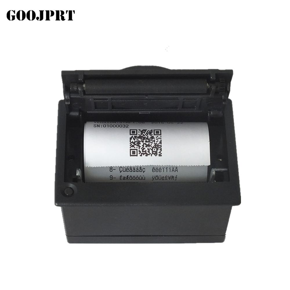 Imprimantă de panou termică încorporată de 58mm, totul în imprimanta echipamentului medical de înregistrare POS