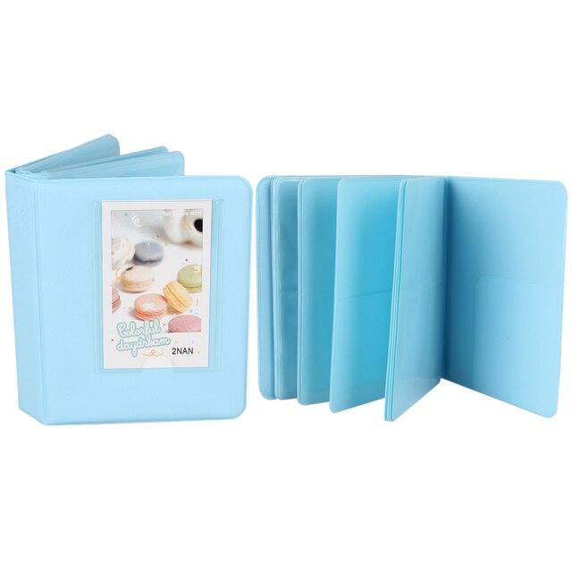 64 кармана Interleaf фотоальбом мини-пленка Instax фотоальбом для полароидов чехол для хранения фотографий домашняя Семья Друзья сохранение памяти сувенир