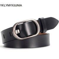Women Leather Belts New Genuine Leather Women Belt Famale Cowhide Strap Waistband Belts For Women Luxury