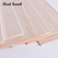 500x100x6/7/8/9mm AAA+ Balsa Wood Sheets EXCELLENT QUALITY Model Balsa wood sheets for DIY airplane boat model material