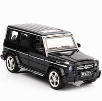 1/24 Mercedes G65 AMG Diecasts & Toy Vehicles Car Model With Sound&Light Collection Car Toy Boy Toys For Children
