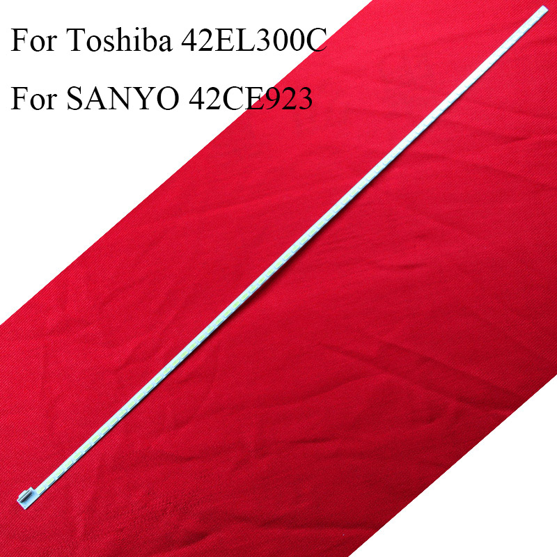 Industrious Led For Toshiba 42el300c 42 Inch Tv Led Backlight Stripfor Sanyo 42ce923 6922l-0016a 6916l-0912a Original Custom Led Bar Lamps Strengthening Waist And Sinews Shell & Body Parts