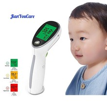 JianYouCare Digital Infrared Thermometer Portable Temperature Gun Non-contact Laser Body Fever Surfaces Temperature Baby&Adult original non contact temperature es1 pro
