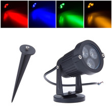 9W Waterproof LED Lawn Lamp for Garden Landscape Spot Light IP65 220V 110V Outdoor Lighting Path Spike Lights