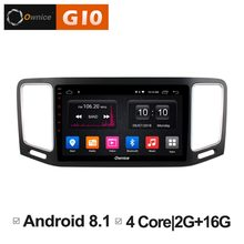 HD Android 8.1 Quad 4Core 2GB RAM+16GB ROM Car DVD Player For Volkswagen VW Sharan 2012-2018 GPS Navigation Radio Stereo TPM(China)