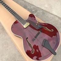 New standard Custom 60 F hollow body Electric guitar,custom custom gitaar,musical instruments guitarra.