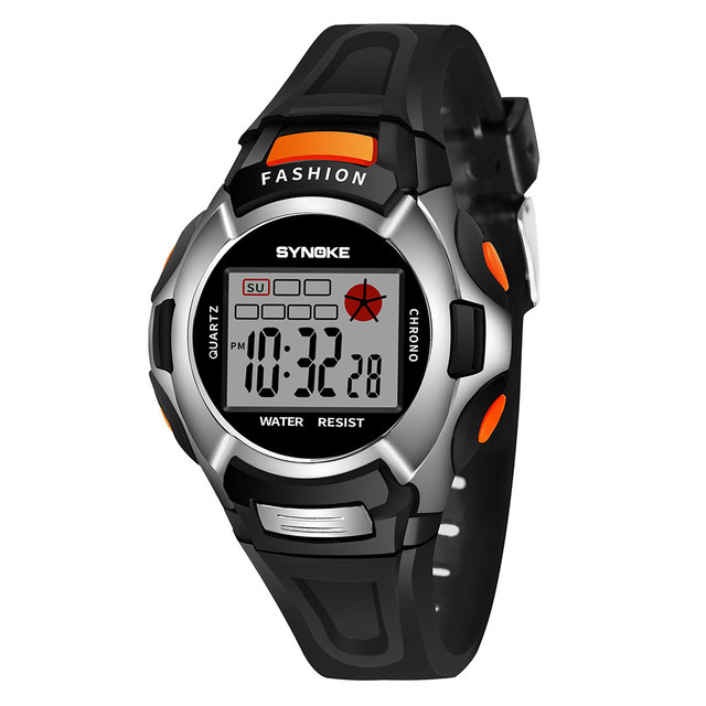 Children Boys Student Girls Watch Waterproof Sports Watches LED Digital Date Wri