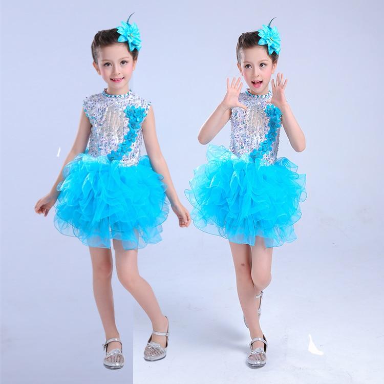 08d383ff14ed Child Ballet Tutu Dance Dress Girl Modern Dance Costume for Stage ...