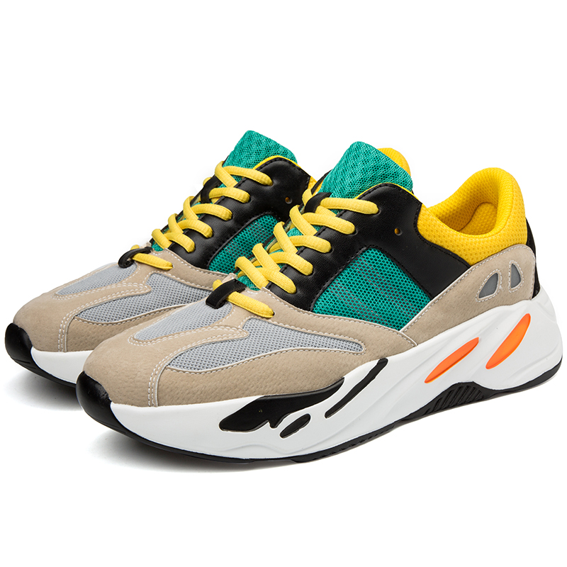 Zapatos Zapatillas Malla De beige Ad Kanye West black 02 Casuales Hombre Los Gray Cpi white Hombres Moda Deporte Transpirables 2019 Papá Luz Sq8WEwO