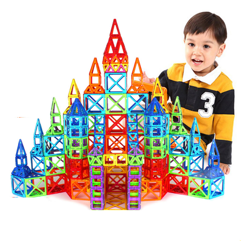 Mini 160PCS/Set  Toys For Kids Magnetic Designer Building Blocks Models & Building Toy  Children Learning Educational Toys dayan gem vi cube speed puzzle magic cubes educational game toys gift for children kids grownups