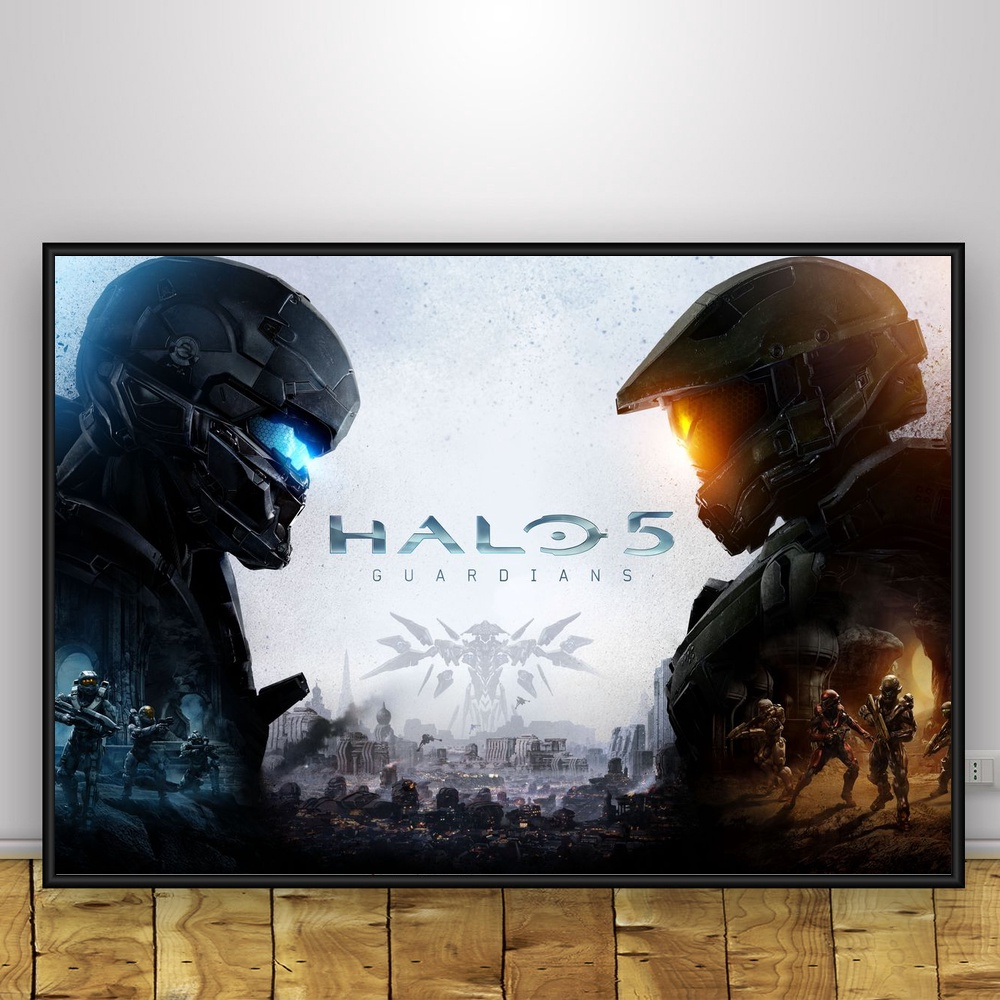Halos wars Game Art Silk Poster Home Decor 12x18 24x36inch