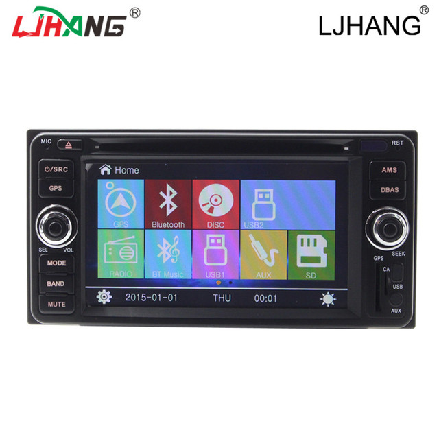 Multimedia Bluetooth RDS FM AM Radio For Old Corolla GPS Navigaiton Car DVD Player Free Map Wince6.0 Radio Steero Video