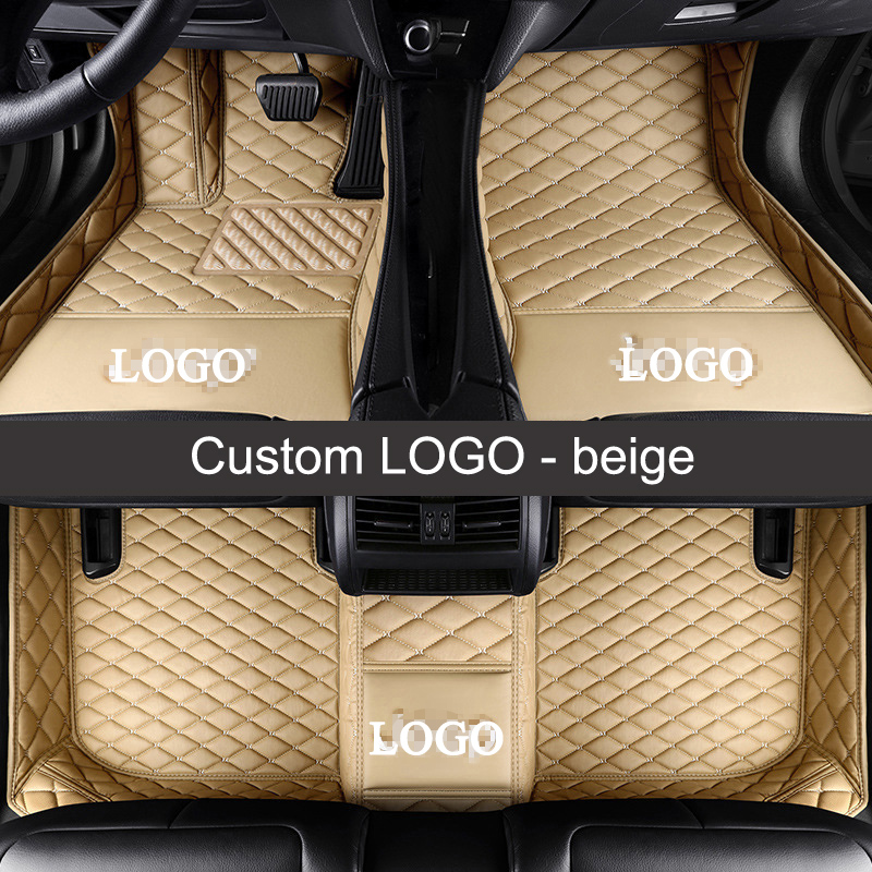 Lunda Custom Logo Car Floor Mats For Mercedes Benz All Models A B C
