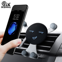 IKSNAIL Car Air Vent Phone Holder Gravity Smartphone GPS Stands Universal Mobile Auto Stand For for