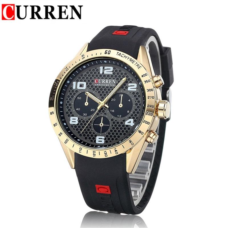 curren chronometer watch brand мужским парфюмом