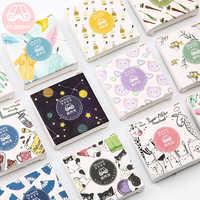 Mr. papier 40 teile/schachtel Nette Tagebuch Aufkleber Scrapbooking Glücklich Urlaub Serie Planer Japanischen Kawaii Dekorative Schreibwaren Aufkleber