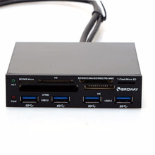 3.5 In Internal PCI-E PCI Express USB 3.0 HUB Card Reader SD SDHC MMS XD M2 CF Memory Card Readers & Adapters