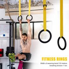 Fitness Gymnastics Rings Crossfit Indoor Exercise Pull Ups M