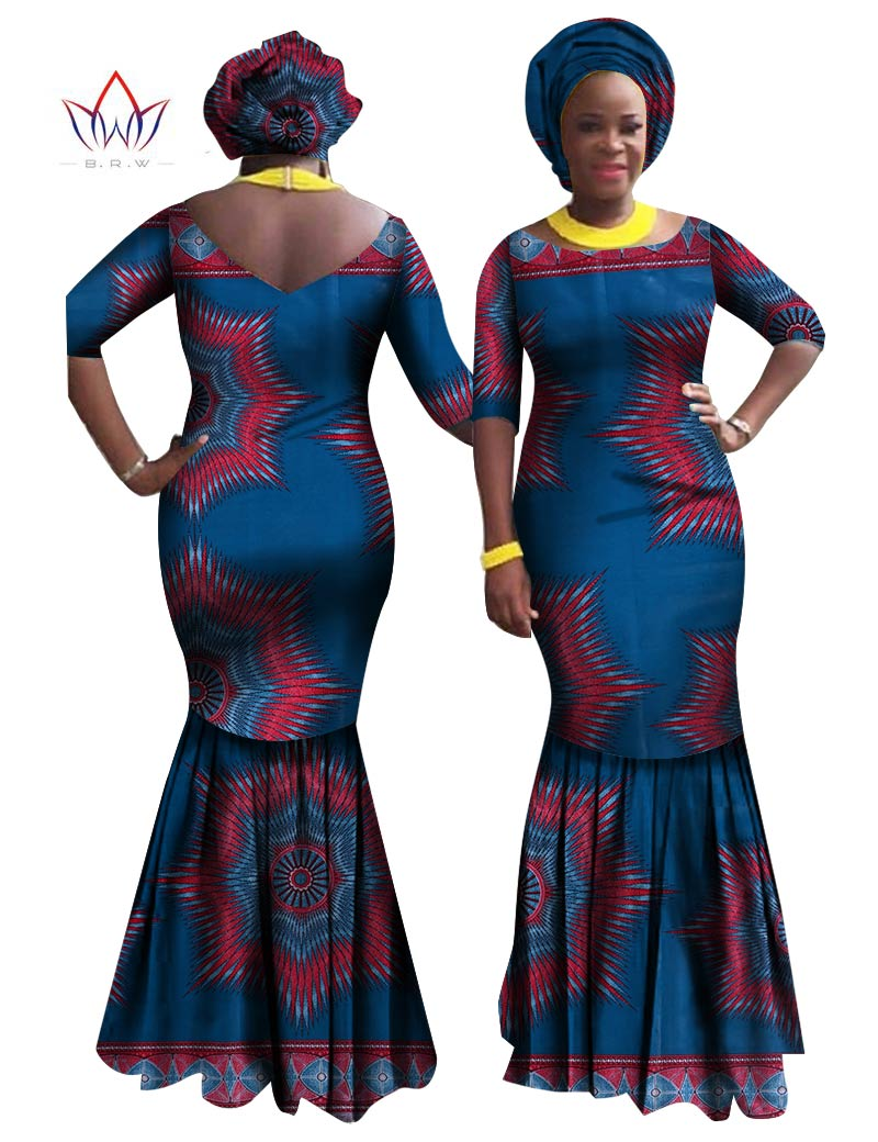 ecb19fec798a6 Bodycon Dress Plus Size Women traditional african dresses Brand Custom  Clothing Africa Wax Dashiki Slim Cut Sexy Dress WY862