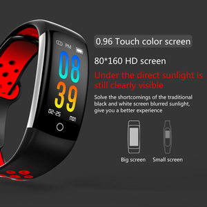 Image 2 - Smart Bracelet Women Q6 Bluetooth Smartwatch Men Heart Rate Blood Pressure Monitor Sport Watch Fitness Tracker for Android IOS