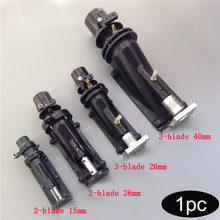 1PC 15mm 26mm 40mm Kaliber Jet Pumpe Wasser Ruder 2/3 Klingen Spray Propeller Pumpen mit Kupplung für RC Boot Modell