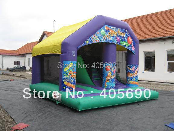 Attractive Colorful inflatable mini bouncy