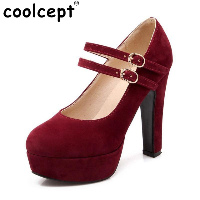 women stiletto high heel shoes sexy lady platform spring fashion heeled pumps heels shoes plus big size 31-47 P16737