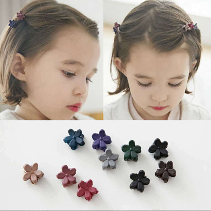 New Hair Clips Cute Children Color Randomly Sent Scrub Mini Flowers Small Animal Best Selling 2019 Products Jewelry Wholesale