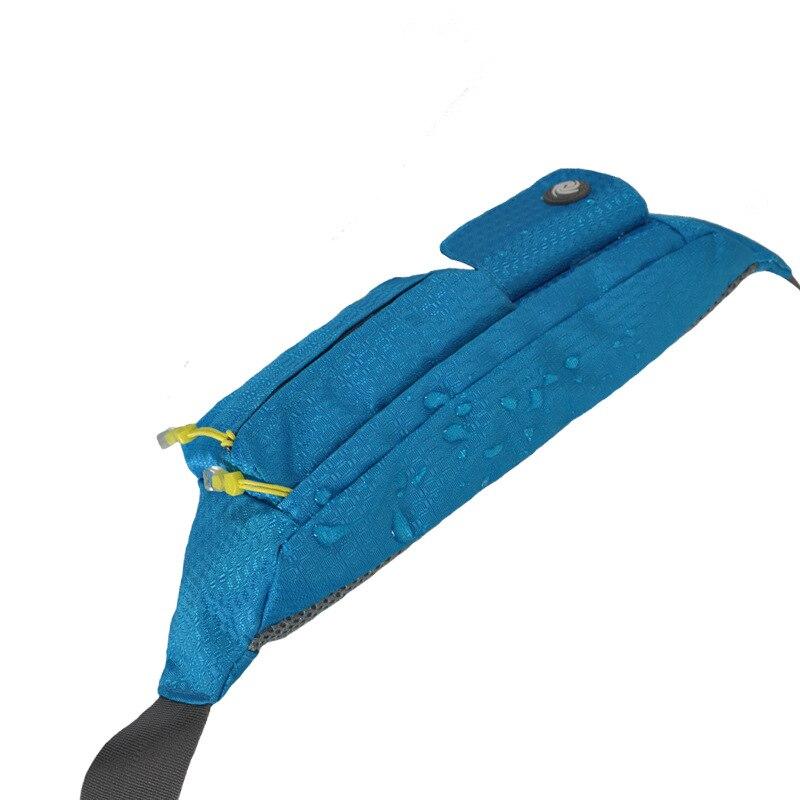 Wholesale Women Waist Pack Men Waterproof Fanny Lightweight Waist Bag Women Belt Bum Bag Male Phone Wallet Pouch Bags in Waist Packs from Luggage Bags