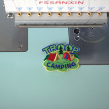 Custom Embroidered Name Patch  Iron on / Tag Rectangular Oval Freehand