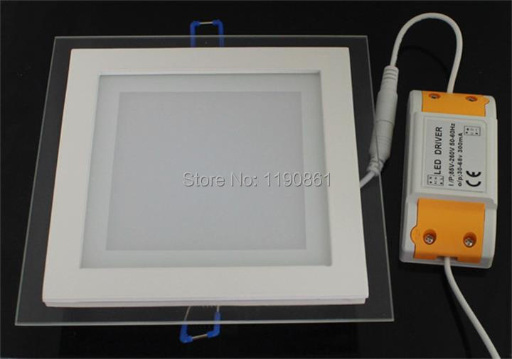Ultra Bright 6W12W18W LED Panel Light Square LED Ceiling Wall Light Lamp Recessed Downlight Pure Warm White led bulb