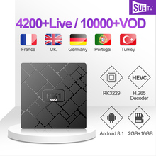 SUBTV IPTV Subscription HK1mini TV Box Arabic Italian IPTV Code FULL HD Smart TV Box Portuguese IPTV Africa France Polish IP TV 1 year subtv iptv code leadcool q9 box french arabic iptv subscription 4k h 265 rk3229 smart ip tv box italian portuguese iptv