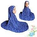 Mu1026 Impresión Oración Islámica Con Sombreros Super Tamaño Señoras de Oración Musulmán Hijab Hijab Turbante 2016 Ramadan Orar