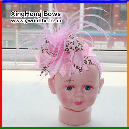 10 pcs/lot girls headband Hair accessories bows with hair band bow and headbands hairbows new topknot