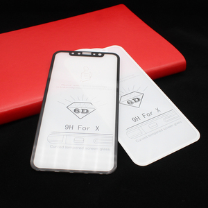 Image 2 - 25 PCS Full Cover Protective Premium Screen Protector 5D 6D Round Curved Edge Tempered Glass For iPhone 11 Pro XS XR Max