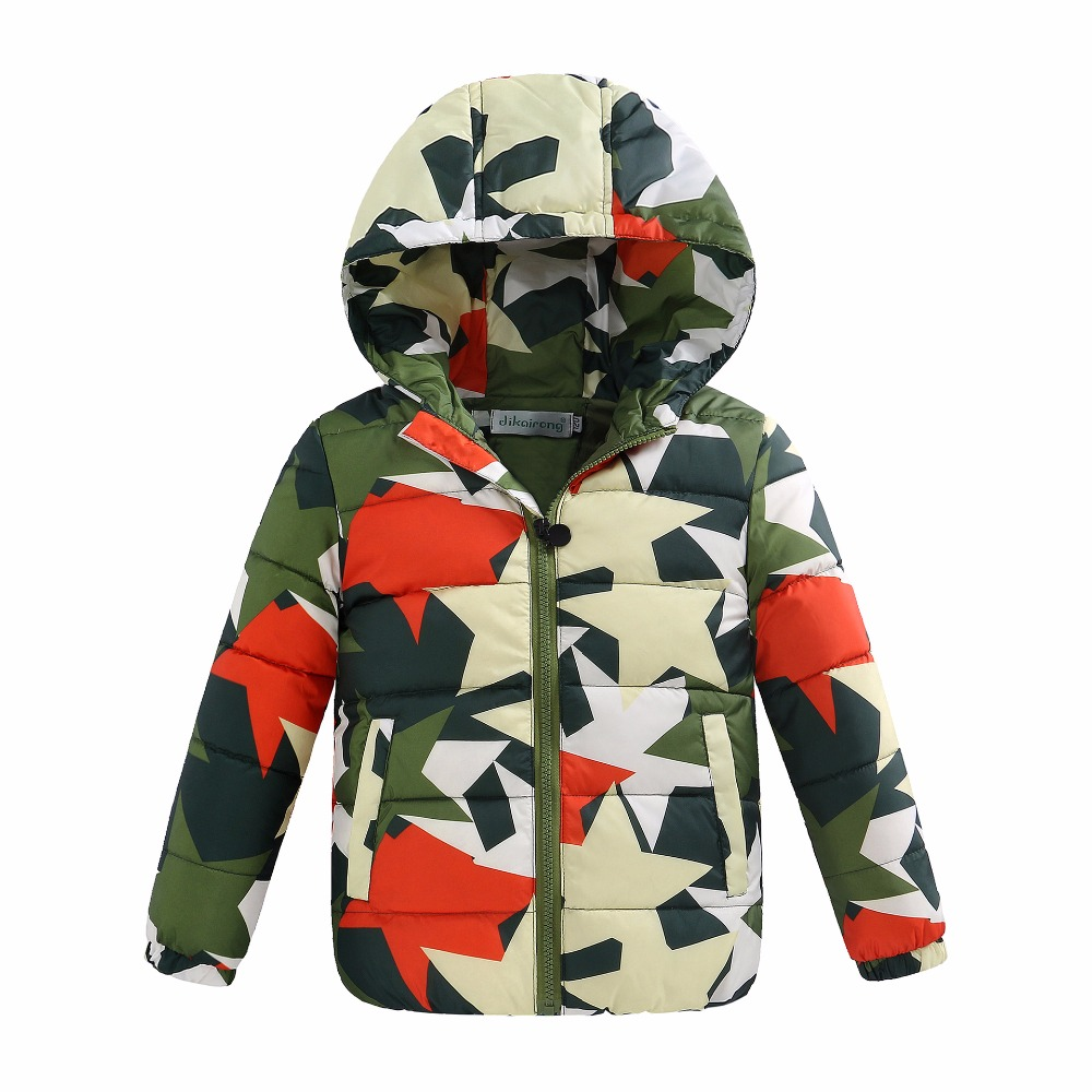 New fashion winter Korean style children child down jacket light hooded coats for baby boys and
