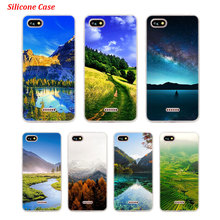 Silicone Phone Case Travel to mountain for Xiaomi Redmi S2 Note 4 4X 5 5Pro 5A Plus 6 6A 7 Pro Cover