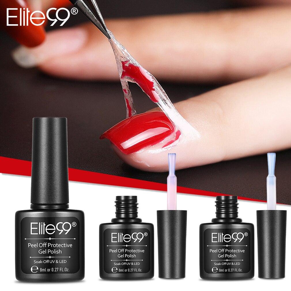 Elite99 לקלף מגן לק מניקור מוגן קל נקי מהיר אצבע עור נוזל קלטת ג 'ל ציפורניים טיפול כלי פינצטה