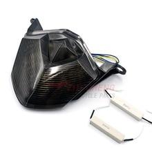 Motorcycle LED Rear Tail Brake Light Turn Signal Lights For Kawasaki Z750 Z1000 2007 2013 ZX10R ZX 10R 2008 2010 ZX 6R 2009 2012