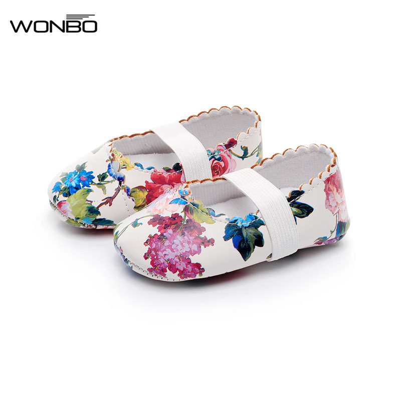New Designs Princess Dance baby Ballet shoes Cow leather soft sole Baby Moccasins Newborn Crib Maryjane Girls First walkers