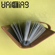 New style Casual Large capacity cow leather men card holder Top grade fashion credit card holder Genuine Leather id card holder