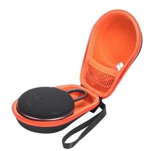 Image 5 - Tragbare EVA Zipper Harte Fall Lagerung Tasche Box Für JBL Clip 2 3 Bluetooth Lautsprecher CE0822 Drop verschiffen