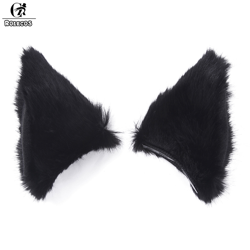 ROLECOS New Arrival High Quality Cosplay Accessories Multicolor Cat Ear Cute Cosplay Headwear